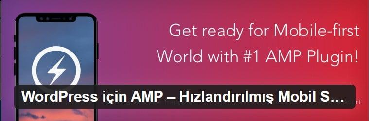 AMP for AMP
