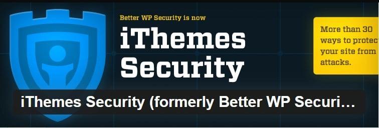 ithemes security eklentisi
