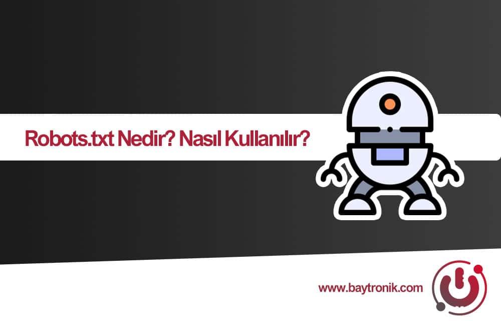 Robots txt nedir