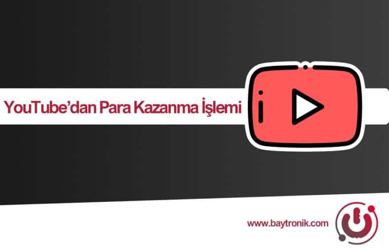 2020 YouTube Üzerinden Para Kazanma Rehberi
