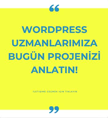 Wordpress Uzmanı